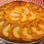 Receta de bizcochuelo de manzana